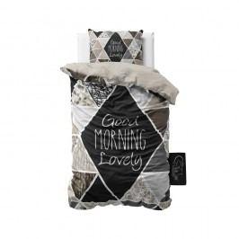 Obliečky z mikroperkálu Sleeptime Crazy Morning, 140 x 220 cm