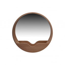 Nástenné zrkadlo s odkladacím priestorom Zuiver Round Wall, ⌀60cm