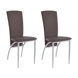Sada 2 hnedých jedálenských  stoličiek Støraa Nevada