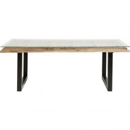 Jedálenský stôl s doskou z mangového dreva Kare Design Kalif, 180×90 cm