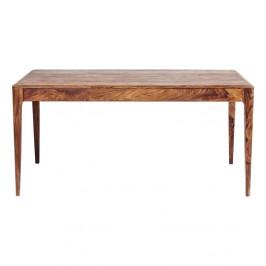 Jedálenský stôl ze sheesamového dreva Kare Design Brooklyn Nature, 160×80 cm