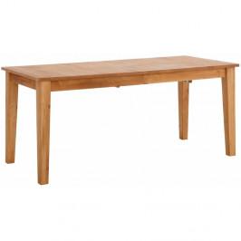 Drevený rozkladací jedálenský stôl Støraa Amarillo, 150 × 76 cm