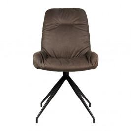 Béžovosivá jedálenská stolička LABEL51 Winner
