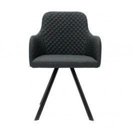 Antracitovosivá jedálenská stolička LABEL51 Tigo