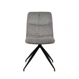 Sivá jedálenská stolička LABEL51 Spider