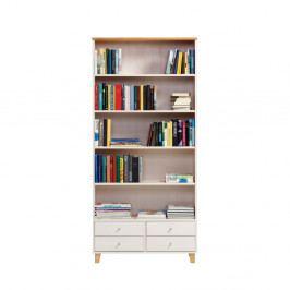 Knižnica z borovicového dreva Askala Scala