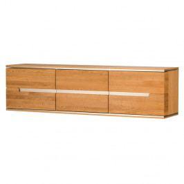Trojdverová nástenná komoda z dubového dreva Szynaka Meble Torino