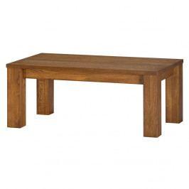 Konferenčný stolík z dubového dreva Szynaka Meble Velvet Rectangle