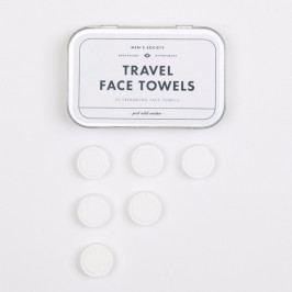 Sada 20 cestovných uterákov na tvár Men's Society