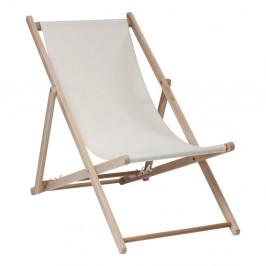 Béžové ležadlo Kare Design Summer