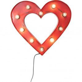 Nástenná svietiaca dekorácia Kare Design Heart