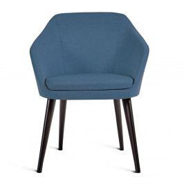 Modrá stolička Charlie Pommier S