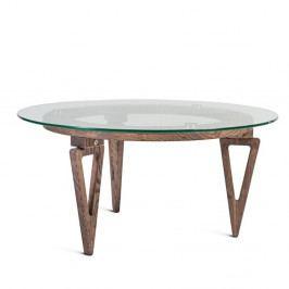 Konferenčný stolík z masívneho jaseňového dreva Charlie Pommier Triangle