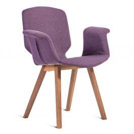 Fialová stolička Charlie Pommier Tea