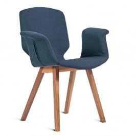 Modrá stolička Charlie Pommier Tea