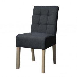 Antracitovosivá jedálenská stolička LABEL51 Sem