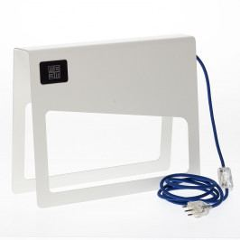Biela stojacia lampa MEME Design Piega