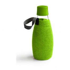 Zelený obal na sklenenú fľašu ReTap s doživotnou zárukou, 500ml