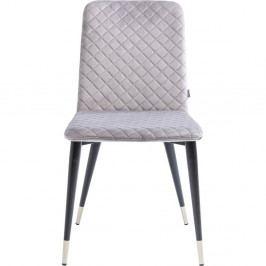 Sada 2 svetlosivých jedálenských stoličiek Kare Design Montmartre