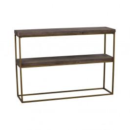 Čierny drevený konzolový stolík Folke Brogge