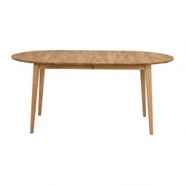 Oválny dubový rozkladací jedálenský stôl Folke Mimi, dĺžka až 210 cm