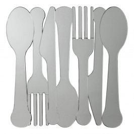 Nástenné zrkadlo Kare Design Cutlery