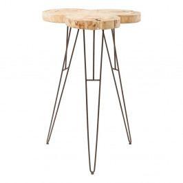 Barový stolík z borovicového dreva Kare Design Wild Nature
