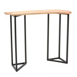 Drevený konzolový stolík s doskou z cédrového dreva InArt Natural