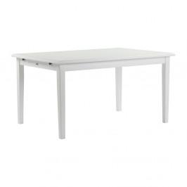 Biely jedálenský stôl Folke Kosster, 140×100cm