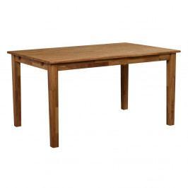 Jedálenský stôl z masívneho dubového dreva Folke Finnus, 140 x 90 cm