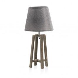Sivá stolová lampa Geese Shine