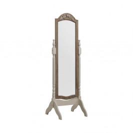 Biele stojacie zrkadlo Geese Vintage
