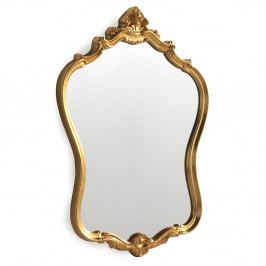 Nástenné zrkadlo v zlatej farbe Geese Baroque, 57 × 72cm