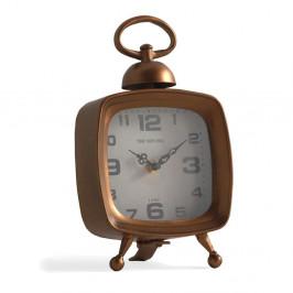 Stolové hodiny v medenej farbe Geese Old