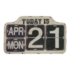 Čierny nástenný kalendár Geese Today