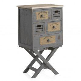 Nočný stolík s 3 zásuvkami Geese Marrakech