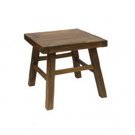 Konferenčný stolík z dreva mungur HSM Collection Sqate