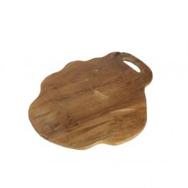 Doska na krájanie z teakového dreva HSM Collection Flate L