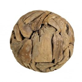 Dekorácia z teakového dreva HSM Collection Biag, Ø 40cm