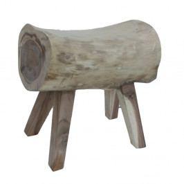 Stolička z dreva mungur HSM Collection Log