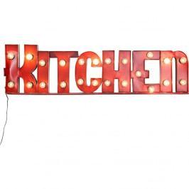 Červená svetelná dekorácia Kare Design Kitchen