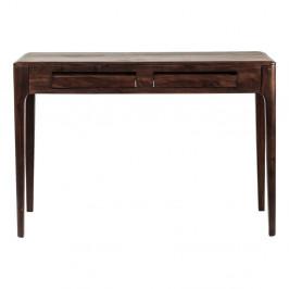 Pracovný stôl z dreva Sheesham Kare Design Brooklyn