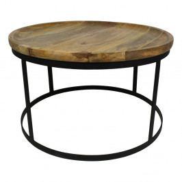 Konferenčný stolík s doskou z mangového dreva HSM Collection Zen