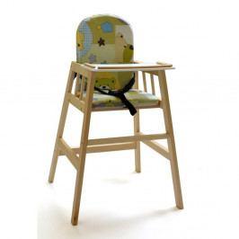 Prírodná detská jedálenská stolička Faktum Abigel