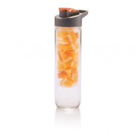 Oranžová fľaša so sitkom XDDesign Loooqs