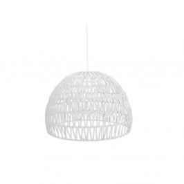 Biele stropné svietidlo LABEL51 Rope, ⌀50 cm