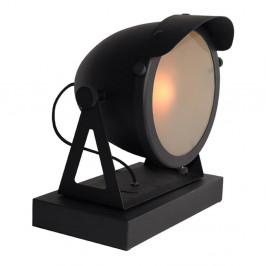 Čierna stolová lampa LABEL51 Cap