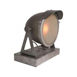 Sivá stolová lampa LABEL51 Cap