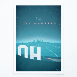 Plagát Travelposter Los Angeles, A2