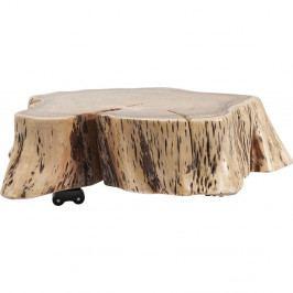 Pojazdný konferenčný stolík z akáciového dreva Kare Design Stumpy